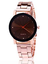 abordables -Mujer Reloj creativo único Reloj de Pulsera Reloj de Vestir Reloj de Moda Reloj Casual Chino Cuarzo Gran venta Aleación Banda Encanto