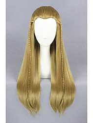 Medium Straight The Lord of the Rings-Legolas Light Brown 26inch Cosplay WigsCS196A