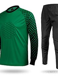 abordables -FUERA DE® Hombres Fútbol Tops Prendas de abajo Transpirable Clásico Deportes recreativos Amarillo Verde Rojo