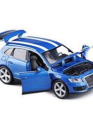 cheap -Toy Cars Die-Cast Vehicles Toys Pull Back Vehicles Race Car SUV Toys Simulation Car Metal Alloy Plastic Metal 5 Pieces Unisex Gift