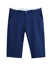 Men's Low Rise Micro-elastic Chinos Shorts Pants,Classic & Timeless Traditional Leisure Casual/Sporty Korean Straight Slim Solid