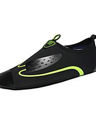 Männer-Müßiggänger&Slip-ons Sommer Komfort Paar Schuhe Licht Sohlen Stoff Outdoor schwarz / blau schwarz / grün upstream Schuhe