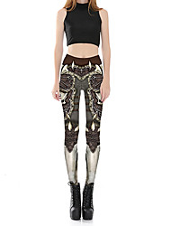 Women's Mid Rise Micro-elastic Chinos Pants,Sexy Cute Skinny Floral Print