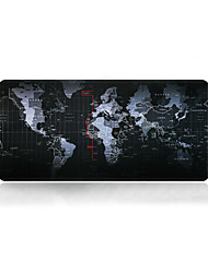 cheap -Super Large Size 90cm*40cm World Map Print Game Mouse Pad Mat Laptop Gaming Mousepad