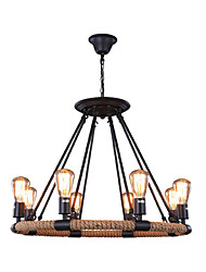 cheap -Rustic/Lodge Traditional/Classic Retro Designers Pendant Light Uplight For Living Room Bedroom Dining Room Study Room/Office Entry