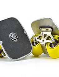Alluminio Unisex Piastra Drift Classico Campanello portaGiallo