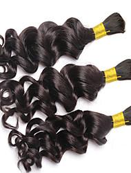 cheap -Loose Deep Wave Human Braiding Hair Bulk No Weft Crochet Braids with Curly Human Hair for Micro Braids Curly Bulk Braiding Hair