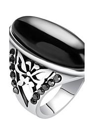 Statementringe Ring Einzigartiges Design Vintage individualisiert Euramerican Luxus-Schmuck Schmuck mit Aussage Modisch Harz Aleación