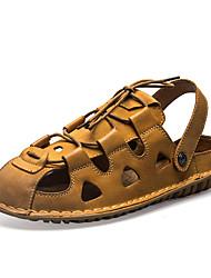 economico -Sandali da uomo primavera estate caduta comodo pelle nappa ufficio esterno&Carriera abiti casual acqua scarpe
