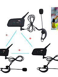 Vnetphone 2 V6/V4 1200M Waterproof Professional Football Referee Intercom System Bluetooth Soccer Arbitro Communication Referee Intercom Headsets
