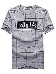 economico -Per uomo T-shirt da escursione Esterno Traspirante T-shirt Top Campeggio e hiking