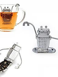 abordables -1pcs en acier inoxydable mignon fabricant d'infuseur de thé fabricant filtre à thé recyclable direct outil de thé