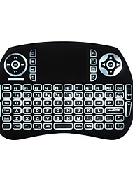 cheap -Air Mouse Keyboard Backlit Flying Squirrels KP21BTL Bluetooth 2.4GHz Wireless for Android TV Box and PC with Touchpad
