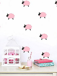 cheap -9pcs per Set Animals Wall Stickers Plane Wall Stickers Decorative Wall StickersVinyl Material Home Decoration Wall Decal