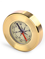 cheap -Brand Military Camping Marching Compass Copper Shell Gold Wild Survival Navigation Noctilucent Compass Climbing Car Compass
