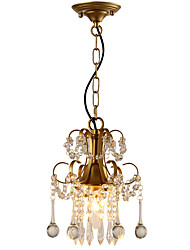 cheap -LightMyself Pendant Light Modern/Contemporary Traditional/Classic Rustic/Lodge Tiffany Vintage Retro Country Painting Feature for Crystal LED Metal
