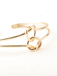 cheap -Women's Cuff Bracelet Jewelry Fashion Copper Irregular Silver Gold Jewelry For Party Special Occasion Anniversary Birthday Gift Valentine