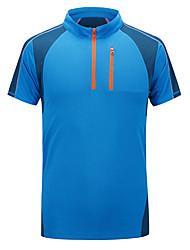 preiswerte -Herrn Laufshirt - Pink, Armeegrün, Himmelblau Sport T-shirt / Oberteile Angeln, Übung & Fitness, Freizeit Sport Kurzarm Atmungsaktiv,
