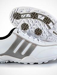 abordables -Homme Chaussures pour tous les jours / Chaussures de Golf Randonnée Respirable, Antidérapant, Anti-Shake Argent / Rouge et Blanc