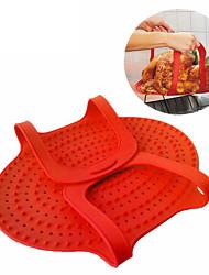 economico -1 pezzi Griglie e piastre Presina & Forno Mitt For per Carne Per utensili da cucina Silicone Alta qualità Cucina creativa Gadget