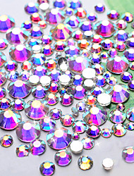 cheap -1440 pcs Rhinestones Glitters / Fashion Daily Nail Art Design / Acrylic