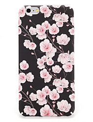 billige -Til Apple iPhone 7 7plus Cover Mønster Bag Cover Case Flower Hard PC 6s plus 6 plus 6s 6