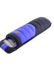 Schlafsack Rechteckiger Schlafsack Einzelbett(150 x 200 cm) -35-25- Enten QualitätsdauneX80 Camping Draußen warm halten