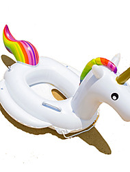 cheap -Unicorn Inflatable Pool Float Donut Pool Float Plastic Kid's Girls' Boys'