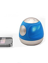 abordables -Mini Portátil Luz LED Bluetooth 3.0 altavoces inalámbricos Bluetooth Azul Claro