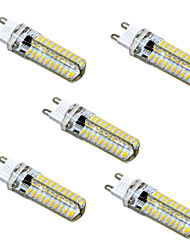 5W G9 G4 G8 GY6.35 LED Bi-pin Lights T 80 leds SMD 4014 Dimmable Warm White Cold White 400-500lm 2800-3200/6000-6500K AC110 AC220V