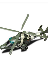 Недорогие -Игрушки Наборы для моделирования Вертолет Игрушки Квадратный пластик Куски Подарок