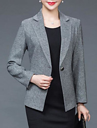 cheap -Women's Casual/Daily Casual Spring Blazer