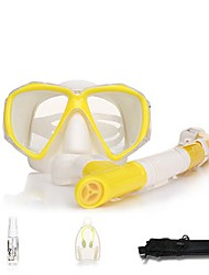 cheap -Diving Package / Snorkeling Set - Snorkel, Diving Mask - Protective Diving, Swimming Neoprene, Fibre Glass  For  Adults