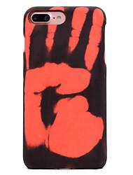 preiswerte -Für iPhone X iPhone 8 Hüllen Cover Muster Rückseitenabdeckung Hülle Volltonfarbe Hart PC für Apple iPhone X iPhone 8 Plus iPhone 8 iPhone