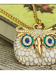 cheap -Men's Women's Owl Personalized Floral Religious Jewelry Unique Design Dangling Style Animal Design Classic Vintage Basic Sexy Rhinestones
