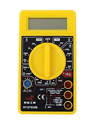 Hold® 130101 Auto-Ranging Digital Multimeter Portable Ohm / Volt Test Meter Multi Tester Home Use Electronic DIY Hand Tools with Backlight LCD Display