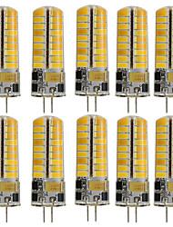 3W G4 Luci LED Bi-pin T 72 SMD 5730 350 lm Bianco caldo Luce fredda K Decorativo V
