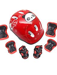 Kinder Kniebandage Ellbogen Bandage Hand & Handgelenkschiene für Eislaufen Skateboarding Verstellbar Schützend Passend für linke oder