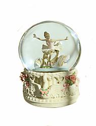 cheap -Music Box Snow Globe Classic Rotating Adults Kids Gift Unisex