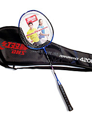 cheap -Badminton Rackets Durable Carbon Fiber One Pair for