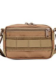 cheap -15 L Shoulder Bag - Waterproof, Wearable, Multifunctional Outdoor Camping / Hiking, Traveling Brown