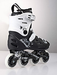 Unisex Adults' Inline Skates Adjustable Black