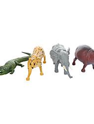 economico -Gioco educativo Giocattoli Elefante Dinosauro Prodotti per pesci Cavallo A pelle di coccodrillo Ippopotamo Animali Da ragazzo 4 Pezzi