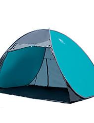 3-4 persone Tenda Igloo da spiaggia Singolo Tenda da campeggio Due camere Igloo da spiaggia Ompermeabile Portatile Resistente ai raggi UV