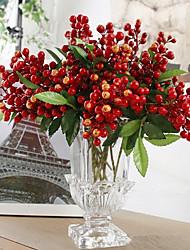 cheap -Artificial Flowers 1 Branch Modern Style Plants Tabletop Flower