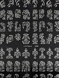 Недорогие -1 pcs 3D наклейки на ногти маникюр Маникюр педикюр Мода Повседневные / 3D-стикеры для ногтей