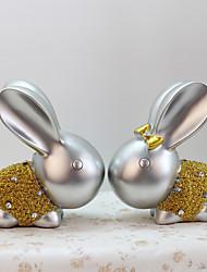Rabbit Home Decoration Animals Polyresin Modern/Contemporary RetroCollectibles Indoor Decorative Accessories
