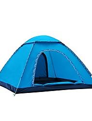 economico -3-4 persone Tenda Singolo Tenda da campeggio Una camera Pop up tenda Anti-pioggia per Campeggio Viaggi CM