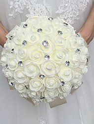 "cheap -Wedding Flowers Bouquets Wedding Rhinestone Foam 11.02""(Approx.28cm)"