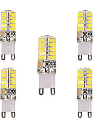 cheap -YWXLIGHT® 5pcs 3W 200-300 lm G9 G4 E17 E12 LED Bi-pin Lights T 40 leds SMD 5730 Decorative Warm White Cold White AC 110-220